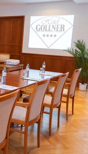 Seminarraum Hotel Gollner Seminar Konferenz Tagung