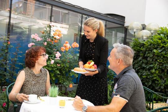 Frühstücken in Graz Hotel Gollner Innenstadt